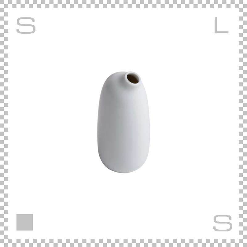 KINTO キントー SACCO サッコ ベース トール ホワイト W65/D65/H135mm 260ml 花瓶 陶器製ベース