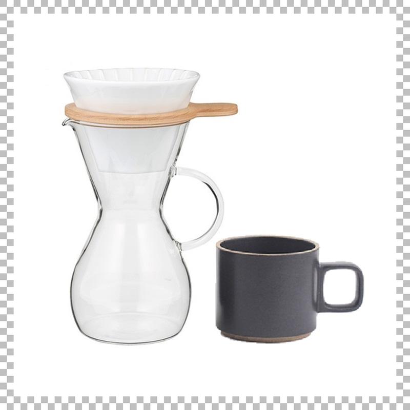 SNOWTOP COFFEE series スノウトップ コーヒーカラフェセット & HASAMI PORCELAIN マグカップ Sサイズ ブラック