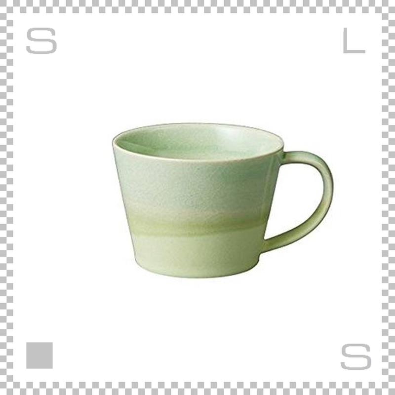 SAKUZAN サクザン COLOR カラー カップ グリーン Φ92/H68mm パステルカラー 日本製