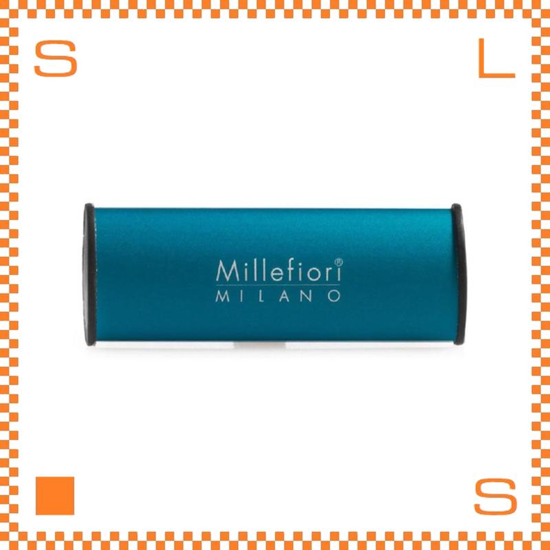 Millefiori ミッレフィオーリ カーエアフレッシュナー アイコン CLASSIC ブルー スパイシーウッド