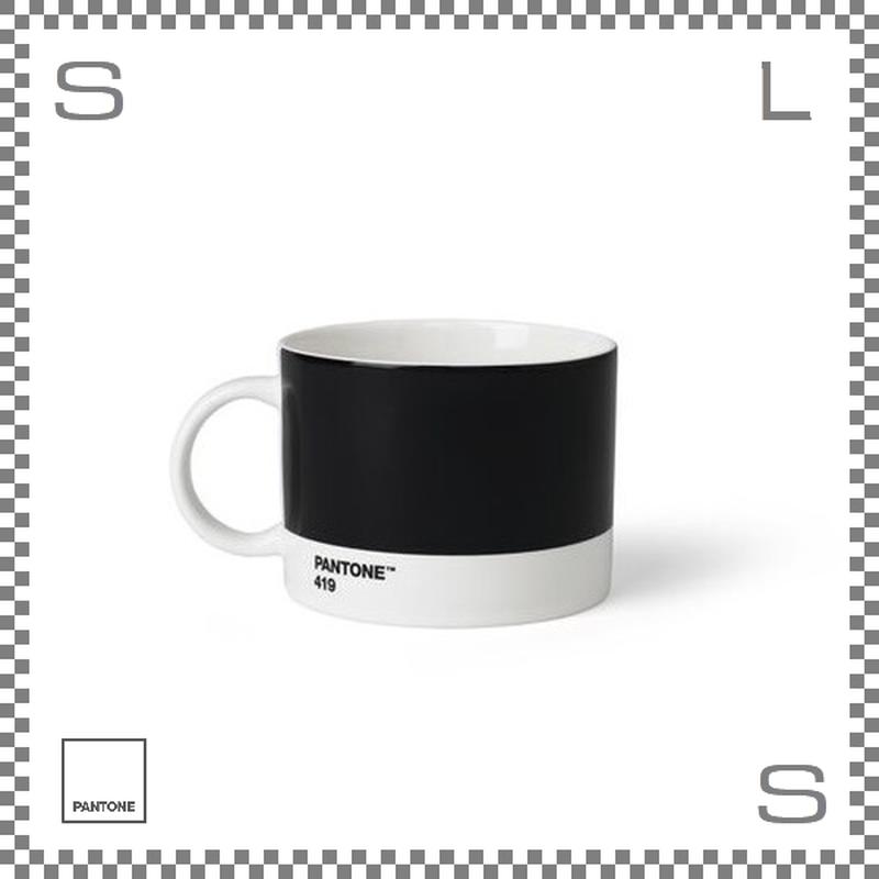 PANTONE パントン ティーカップ ブラック 475ml Φ104/W140/H80mm マグカップ スープマグ