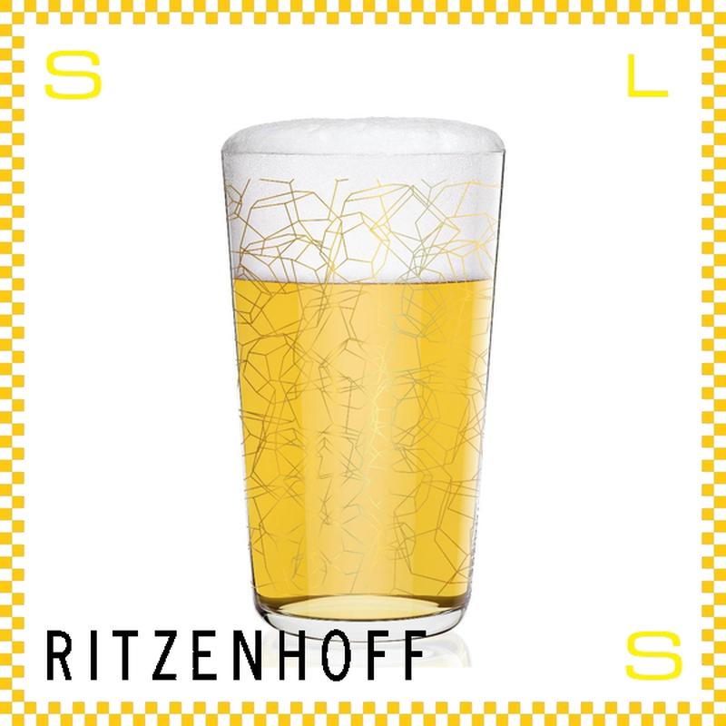 RITZENHOFF リッツェンホフ ビアグラス 330ml ポリへドロン フクサス Φ80/H140mm タンブラー 多面体 ギフト  ritz-3510001