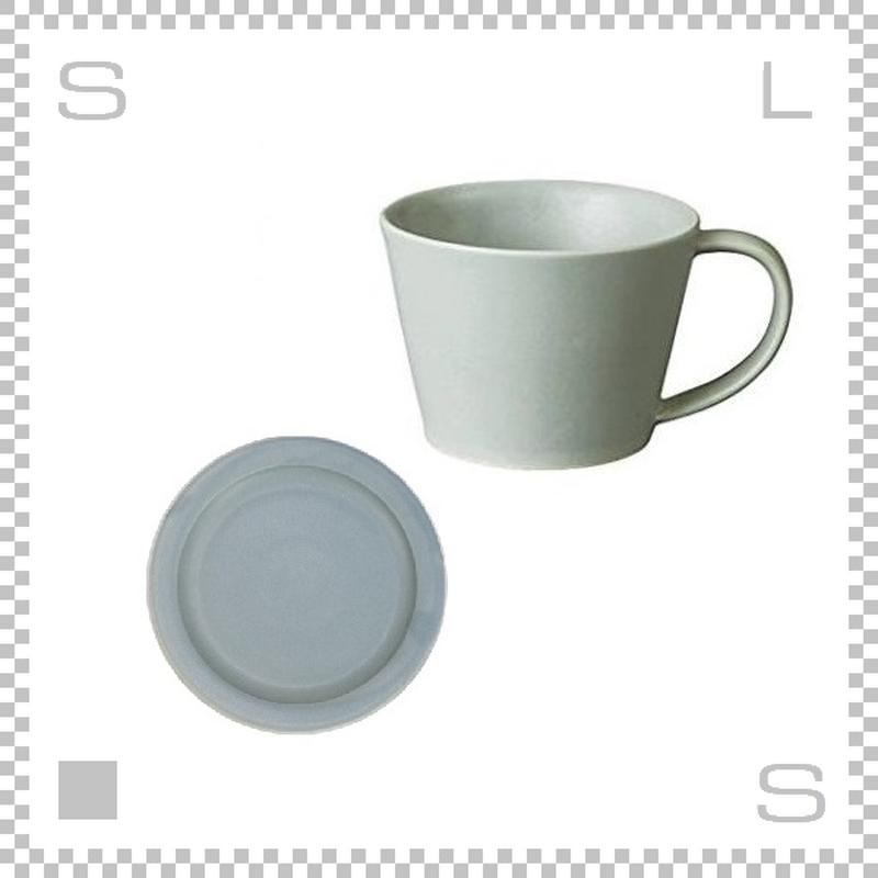 SAKUZAN サクザン SARA サラ コーヒーカップ&ソーサー グレー パステルカラー 日本製