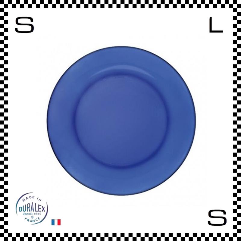 DURALEX デュラレックス depuis1945 サファイア ディナープレート 2枚セット Φ235/H20mm フランス製