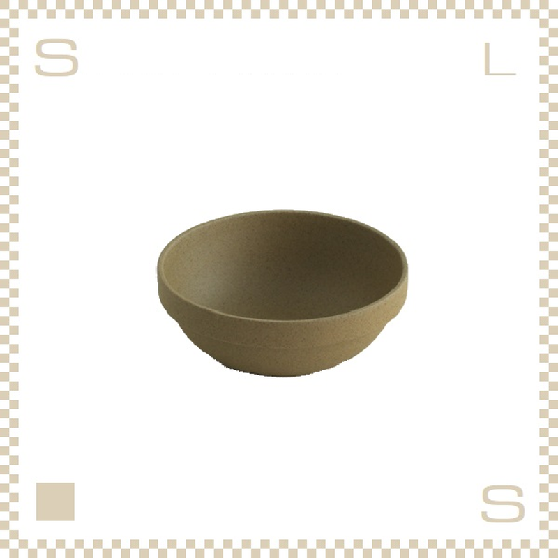 ハサミポーセリン ラウンドボウル 直径145mm ナチュラル Φ145/H55mm スタッキング可 HP031 Hasami Porcelain