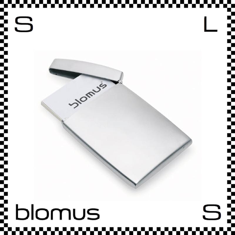 blomus ブロムス GENTS カードケース ステンレス製 カードホルダー 薄型 blomus-68257