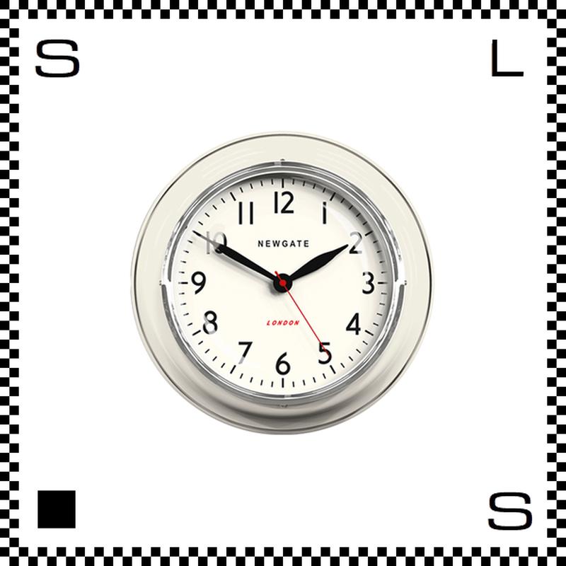 NEW GATE ザ クックハウス Lサイズ クリーム 直径35cm ウォールクロック 壁掛け時計 ニューゲート アートワークスタジオ