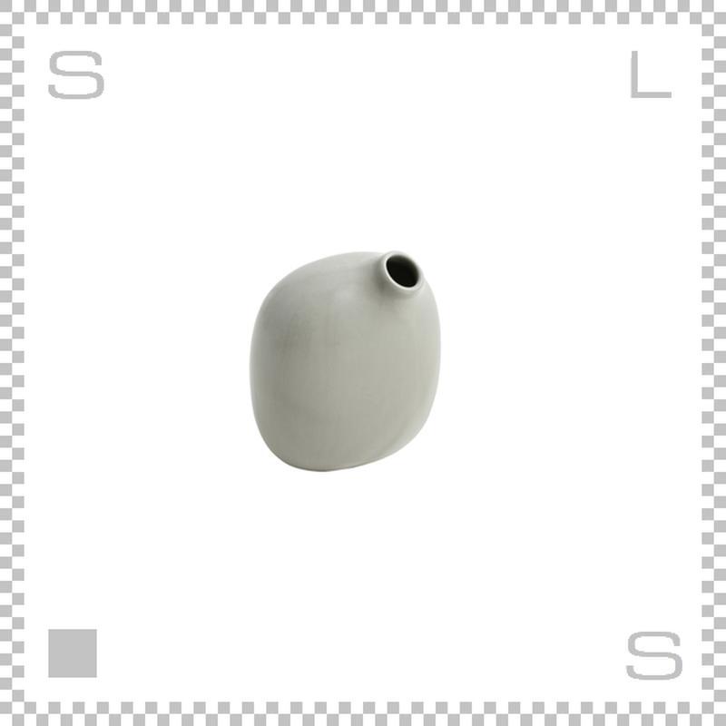 KINTO キントー SACCO サッコ ベース グレー W80/D50/H95mm 180ml 花瓶 陶器製ベース