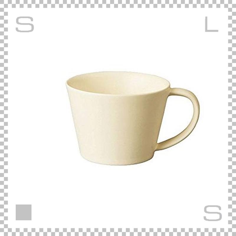 SAKUZAN サクザン SARA サラ コーヒーカップ クリーム 190cc パステルカラー 日本製