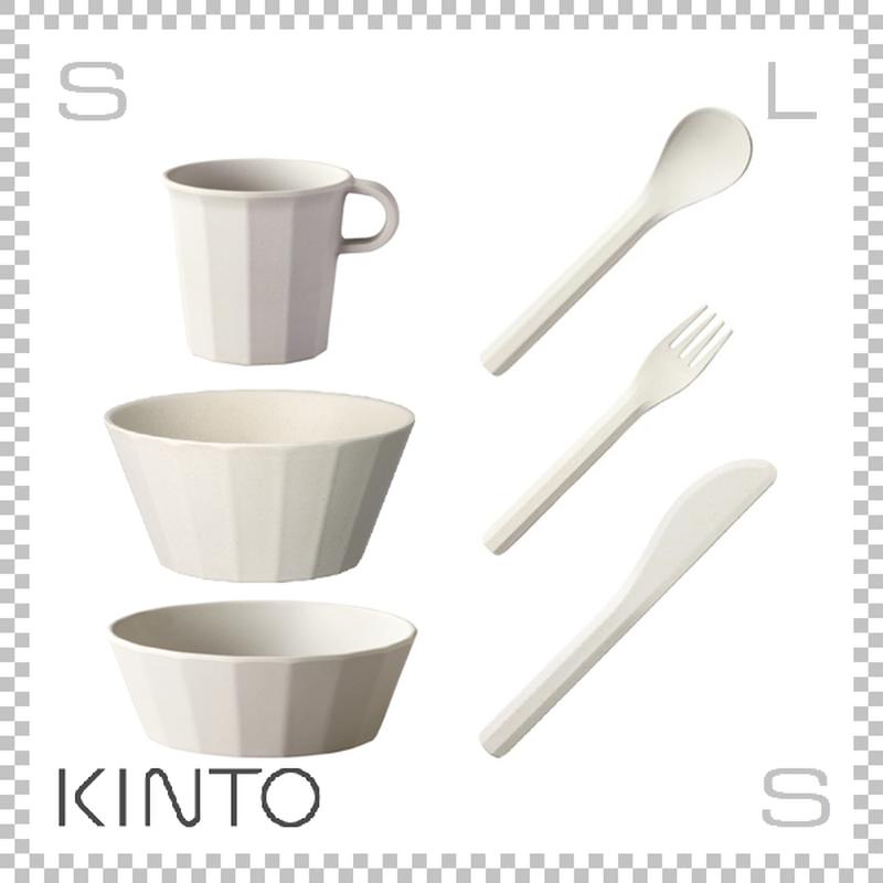 KINTO キントー ALFRESCO アルフレスコ ボウル2サイズセット ベージュ ボウル マグ カトラリーセット 樹脂製 アウトドア グランピング