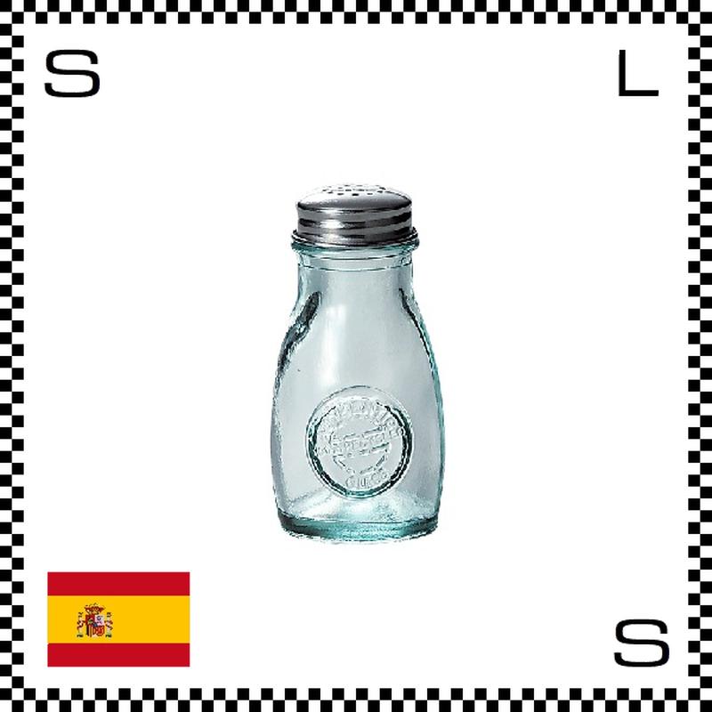 リサイクルガラス ガラスシェイカー 100cc Φ52/H84mm 塩入れ 調味料入れ スペイン製 g490062