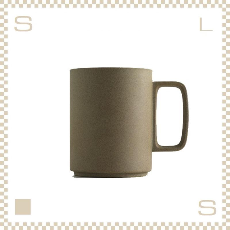 ハサミポーセリン マグカップ Lサイズ ナチュラル Φ85/H106mm 450ml スタッキング可 HP021 Hasami Porcelain
