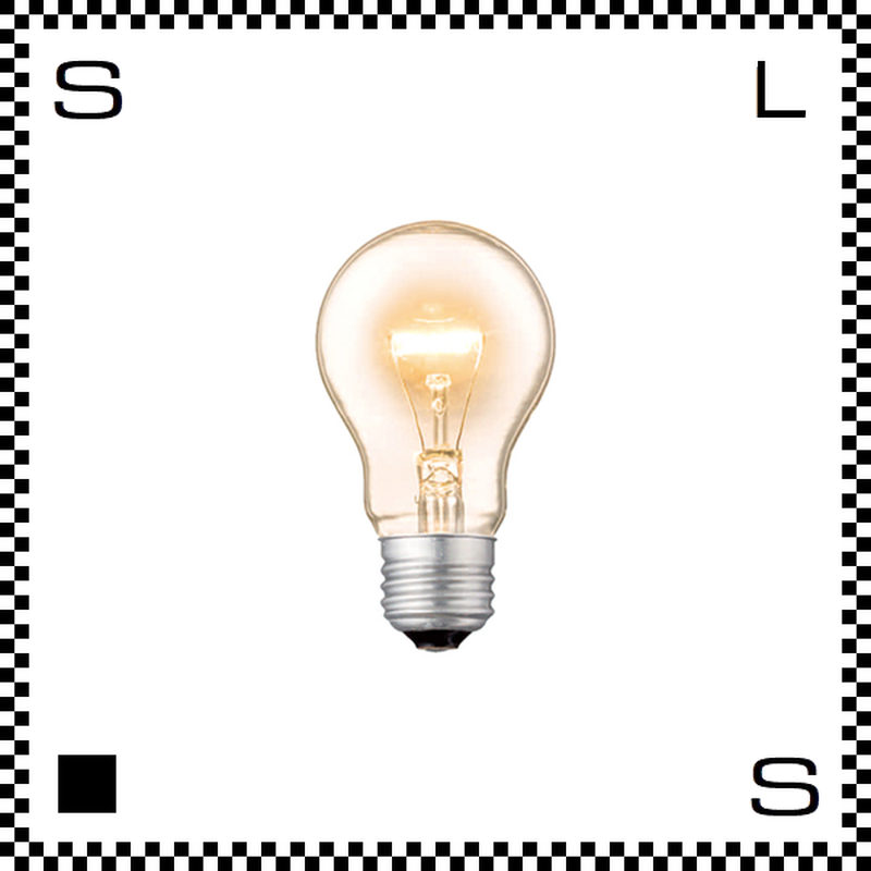 アートワークスタジオ レトロバルブランプ ハウス電球 60W BU-1054