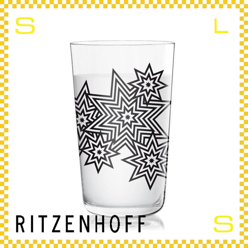 RITZENHOFF リッツェンホフ ミルクグラス 250ml ファイアーワーク シーガ―・デザイン Φ77/H128mm タンブラー オクタグラム ギフト  ritz-3500010