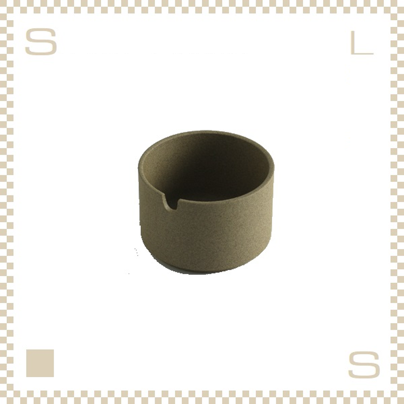ハサミポーセリン シュガーポット ナチュラル Φ85/H55mm スタッキング可 HP017 Hasami Porcelain