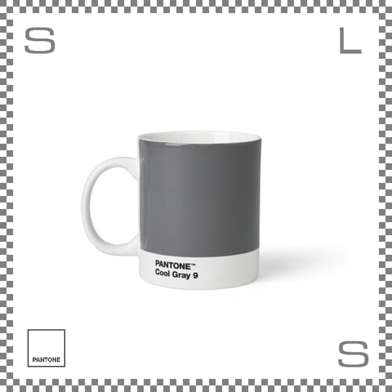 PANTONE パントン マグカップ クールグレー 375ml Φ85/W124/H95mm マグ スープマグ