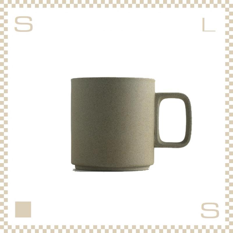 ハサミポーセリン マグカップ Mサイズ ナチュラル Φ85/H89mm 380ml スタッキング可 HP020 Hasami Porcelain