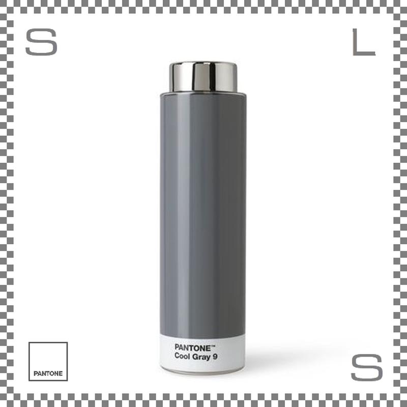 PANTONE パントン ドリンクボトル トライタン クールグレー 500ml Φ62/H220mm ステンレスボトル 魔法瓶