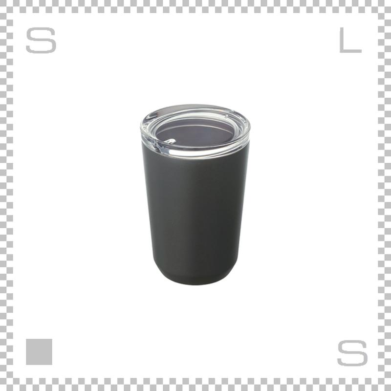 KINTO キントー トゥーゴータンブラー ブラック 360ml ステンレスボトル マグボトル 携帯ボトル