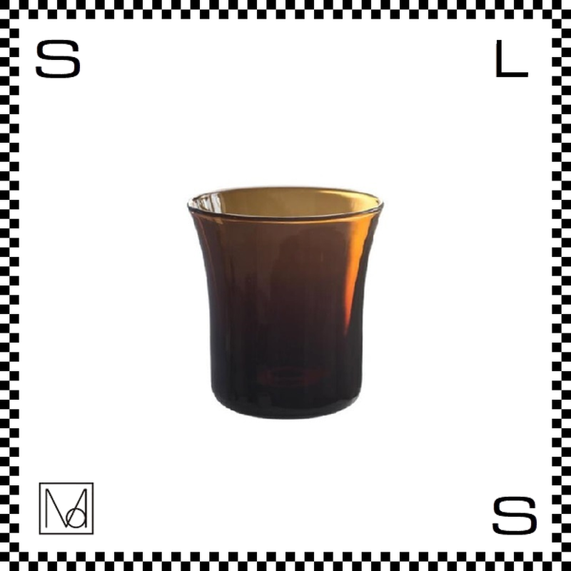 Manses Design モンセスデザイン コップ アンバー 170ml Φ75/H80mm グラス スウェーデン