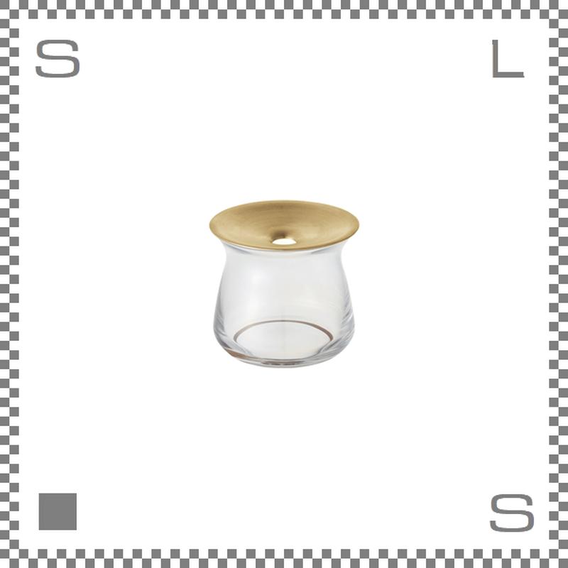 KINTO キントー LUNA ルナ ベース Sサイズ クリア Φ80/H70mm 170ml 花瓶 一輪挿し