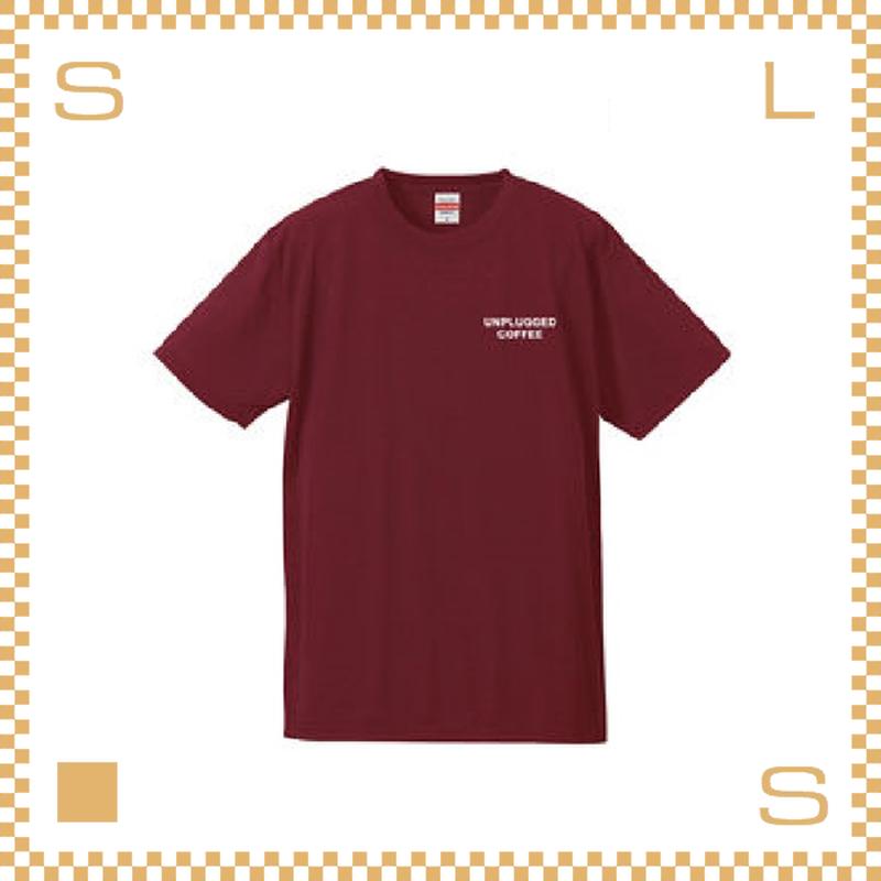 RIVERS リバーズ アンプラグドコーヒー Tシャツ MT バーガンディー サイズS~XL