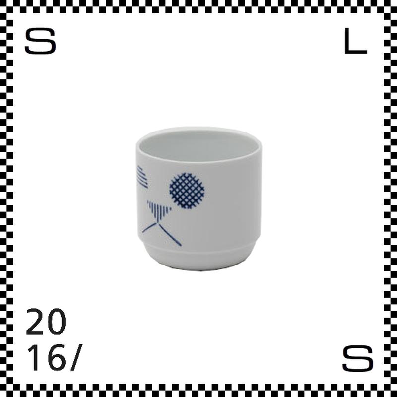 2016/ TAF タフ カップ キャット ブルー 220ml Φ75/H70mm 湯呑み フリーカップ スタッキング可 有田焼 日本製 gs-008