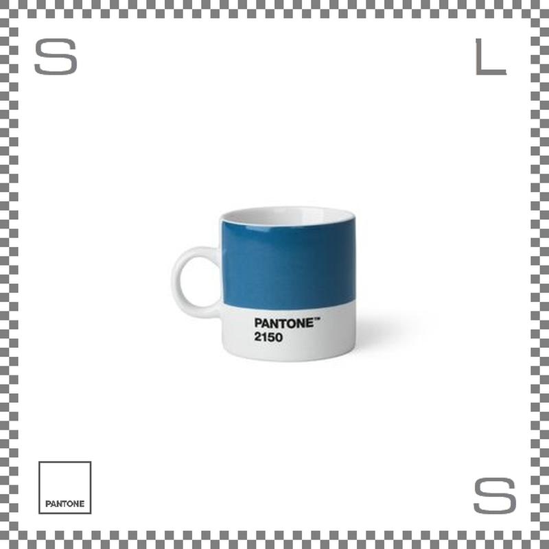 PANTONE パントン エスプレッソカップ ブルー 120ml Φ62/W86/H61.5mm デミタスカップ