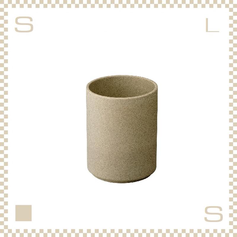 ハサミポーセリン タンブラー コンテナ ナチュラル Φ85/H106mm スタッキング可 HP038 Hasami Porcelain