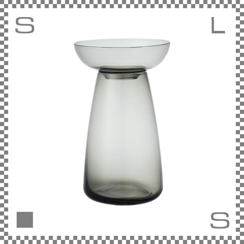 KINTO キントー アクアカルチャーベース Mサイズ グレー 花瓶 ガラス製