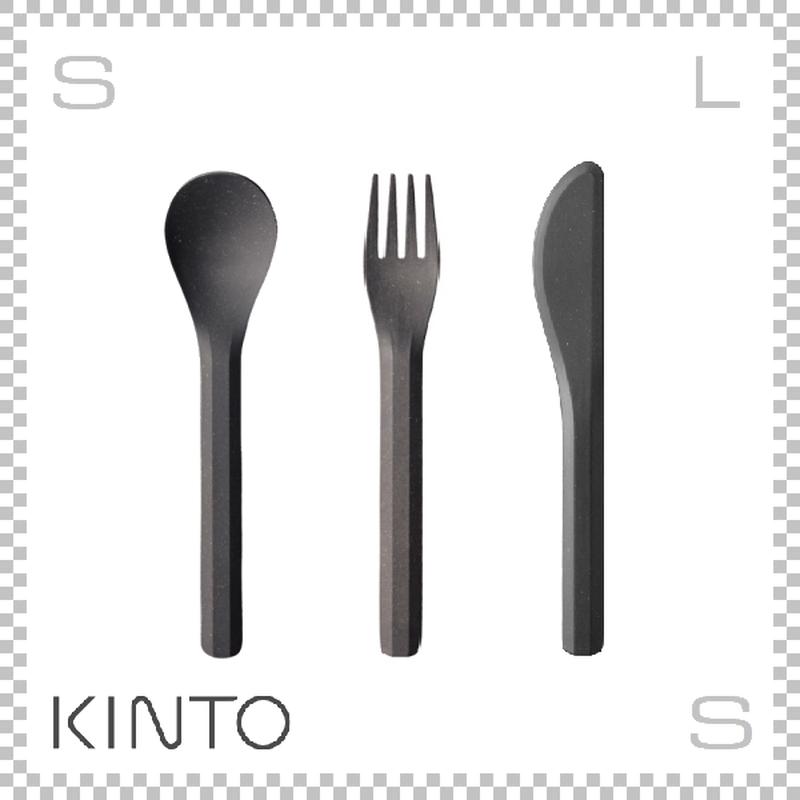 KINTO キントー ALFRESCO アルフレスコ カトラリーセット ブラック フォーク スプーン ナイフ 樹脂製 アウトドア グランピング