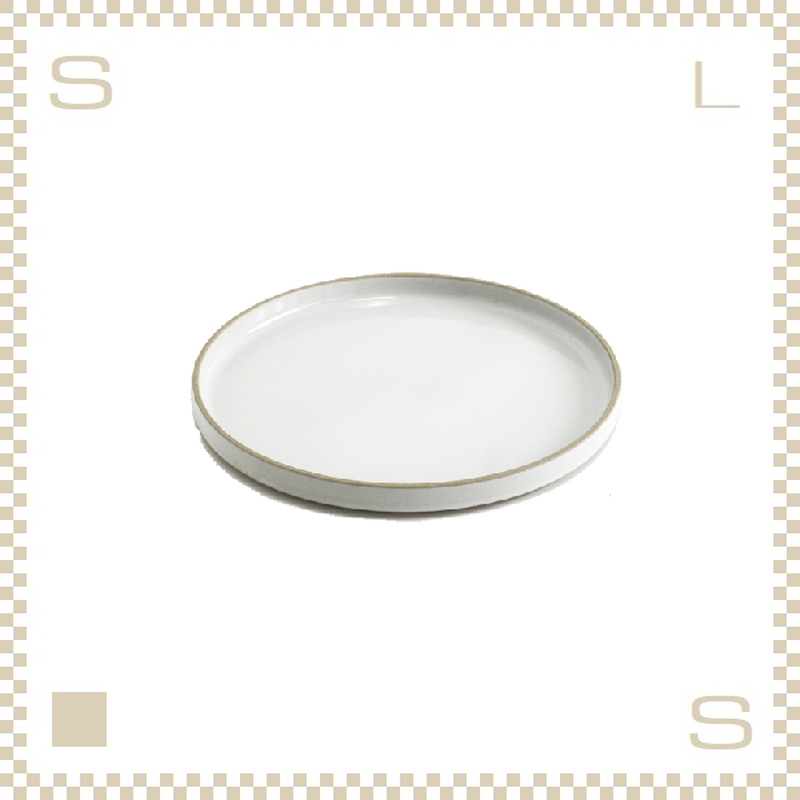 ハサミポーセリン プレート 直径185mm クリア グロス Φ185/H21mm スタッキング可 HPM003 Hasami Porcelain