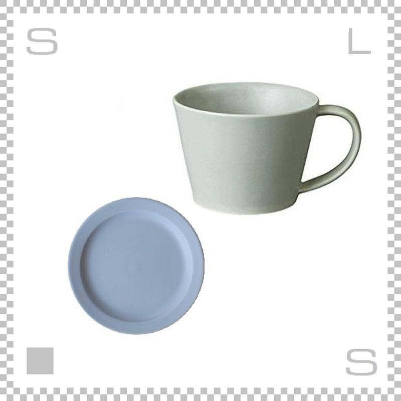 SAKUZAN サクザン SARA サラ コーヒーカップ&ソーサー ライトブルー パステルカラー 日本製