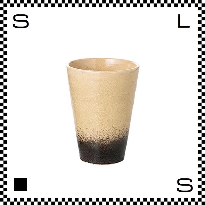 ヤマ庄陶器 信楽焼 ジュエルカップ ムーンストーン 280ml Φ8.5/H11cm タンブラー フリーカップ ハンドメイド 日本製