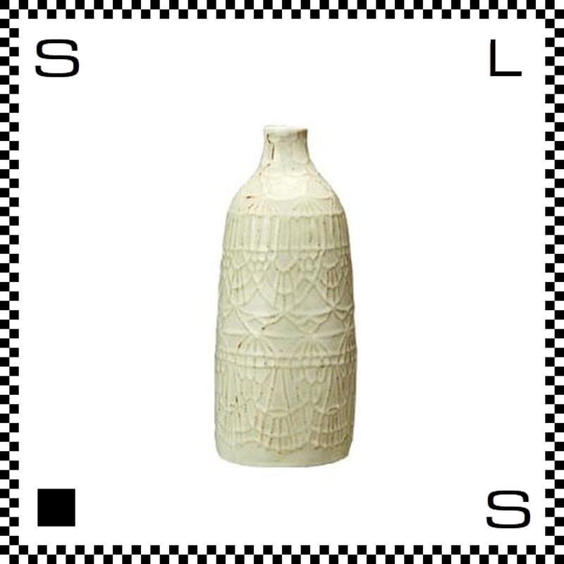 essence エッセンス フラワーベース ドイリー Lサイズ W7.5/H19cm 花瓶 一輪挿し 波佐見焼 日本製