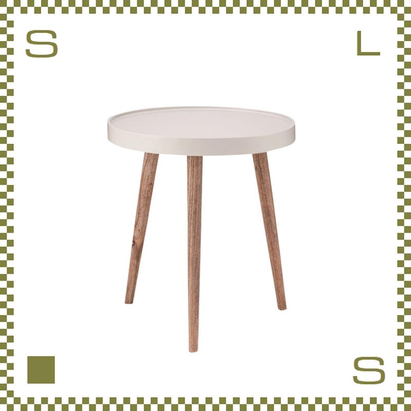 トレーテーブル W45/D45/H50cm サイドテーブル ミニテーブル 縁付き天板 azu-nw724