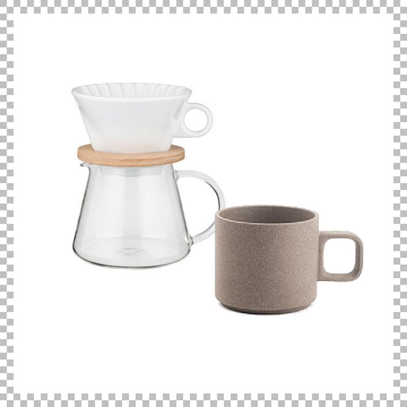 SNOWTOP COFFEE series スノウトップ コーヒーポット&ドリッパーセット 600ml & HASAMI PORCELAIN マグカップ Sサイズ ナチュラル