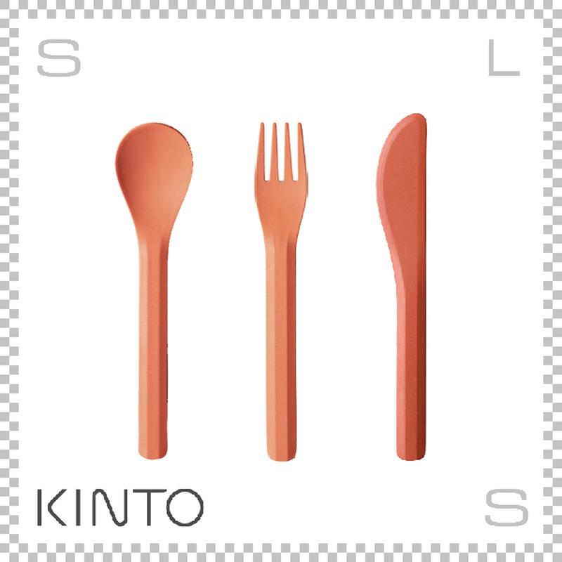 KINTO キントー ALFRESCO アルフレスコ カトラリーセット レッド フォーク スプーン ナイフ 樹脂製 アウトドア グランピング