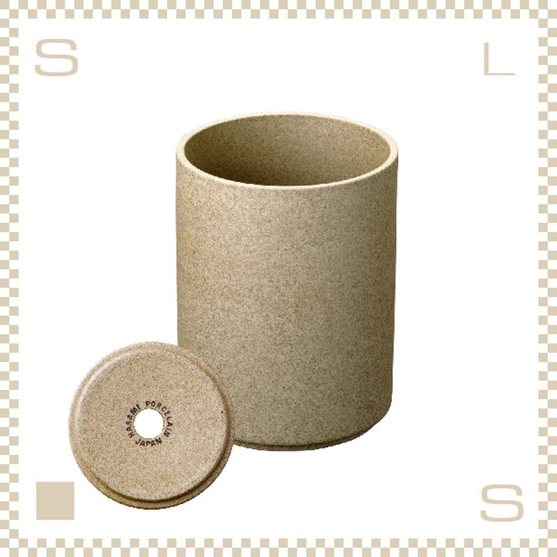 ハサミポーセリン プランター ナチュラル Φ85/H106mm スタッキング可 底穴付き HP044 Hasami Porcelain
