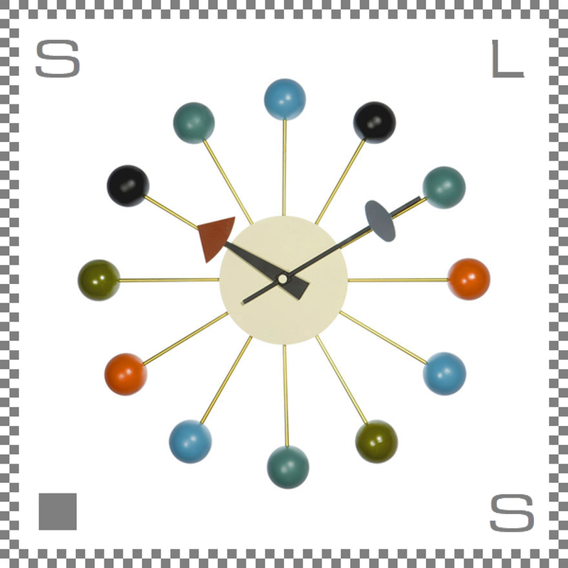 ボールクロック ジョージネルソン 壁掛け時計 クロック ウォールクロック ball clock george nelson