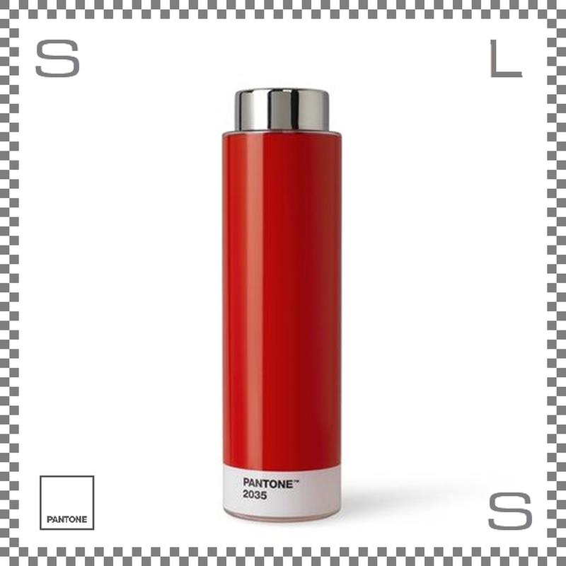 PANTONE パントン ドリンクボトル トライタン レッド 500ml Φ62/H220mm ステンレスボトル 魔法瓶