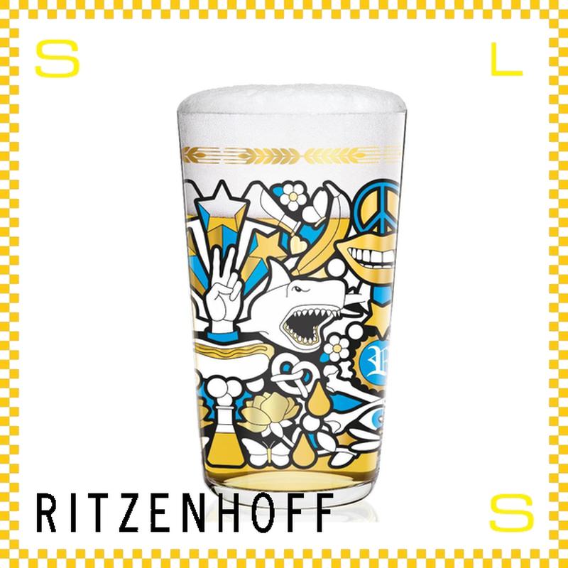 RITZENHOFF リッツェンホフ ビアグラス 330ml アイコニック スタジオ・ジョブ Φ80/H140mm タンブラー シャーク ギフト  ritz-3510007
