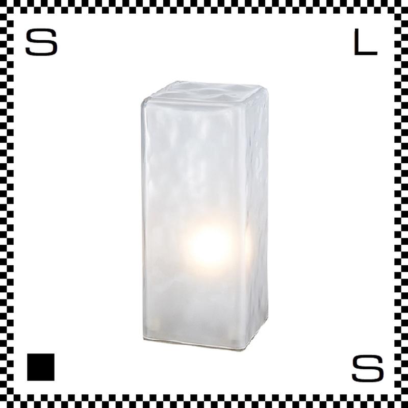 アートワークスタジオ Frosty フロスティブロックランプ フロアランプ 電球付 W110/D110/H258mm レクタングラー  AW-0332