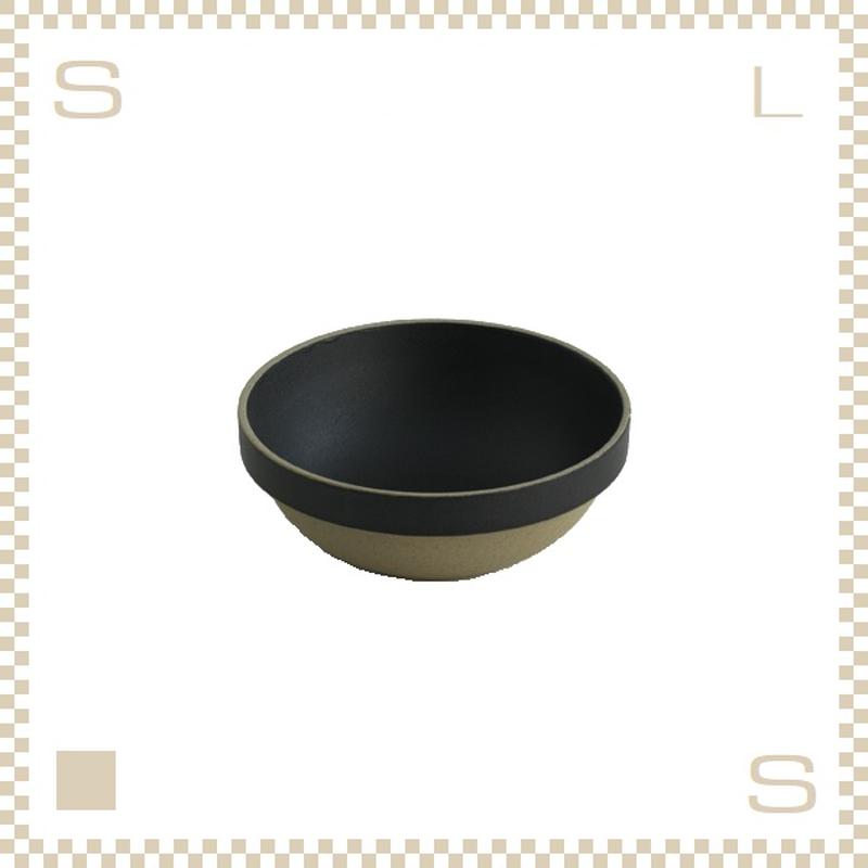 ハサミポーセリン ラウンドボウル 直径145mm ブラック Φ145/H55mm スタッキング可 HPB031 Hasami Porcelain