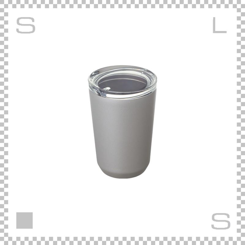 KINTO キントー トゥーゴータンブラー シルバー 360ml ステンレスボトル マグボトル 携帯ボトル
