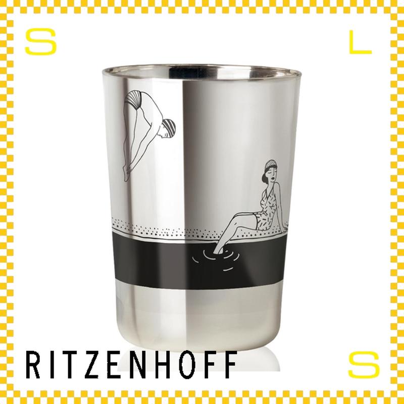 RITZENHOFF リッツェンホフ ジントニックグラス 250ml スイミング スタジオ・ペペ Φ83/H115mm タンブラー スイマー ギフト  ritz-3530008