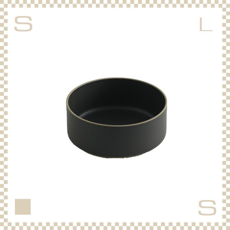 ハサミポーセリン ボウル 直径145mm ブラック Φ145/H55mm スタッキング可 HPB008 Hasami Porcelain