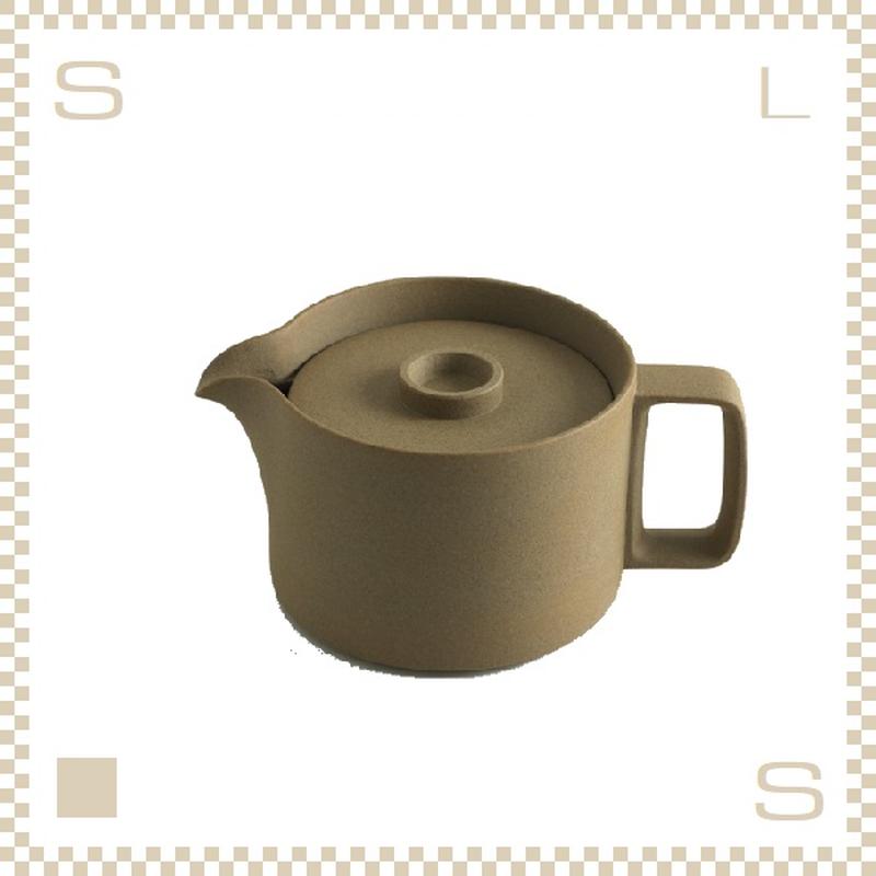 ハサミポーセリン ティーポット ナチュラル Φ145/H106mm スタッキング可 HP018 Hasami Porcelain