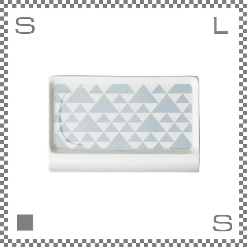 aiyu アイユー 重宝皿ロング うろこ紋 W23.6/D15.7/H1.2cm スクエアプレート 万能皿 箸置きスペースあり 波佐見焼 日本製