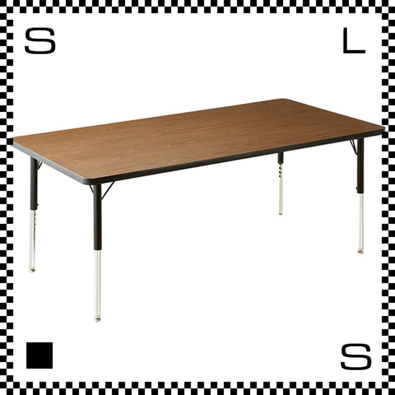 ヴァルコ テーブル Lサイズ ウォルナット 1523×760mm VIRCO社 高さ調節可能 ユニバーサルデザイン 店舗・業務用 TR-4228-WN